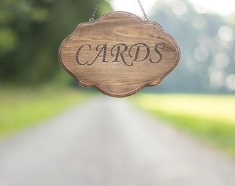 Cards Sign Card Box Sign Banner Wooden Wedding Sign Rustic Wedding decoration Wedding Signs