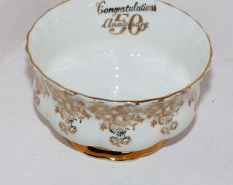 Royal Albert 50th Anniversary Sugar Bowl - 287