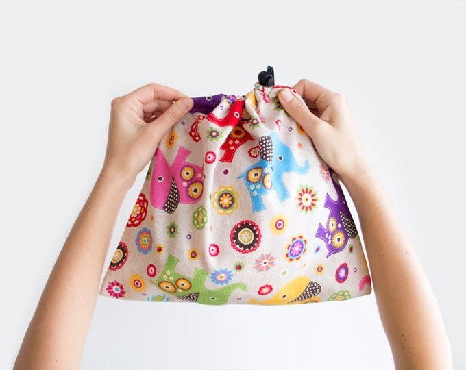 Library bag. Rock Climbing Shoe Bag. Drawstring Bag. Drawstring Pouch