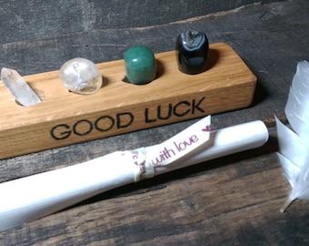 Good Luck crystal set - Reiki Infused