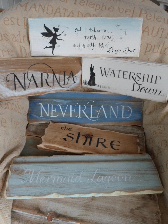 Multi Pack Story Book Fairytale Yard Signpost Signs School
