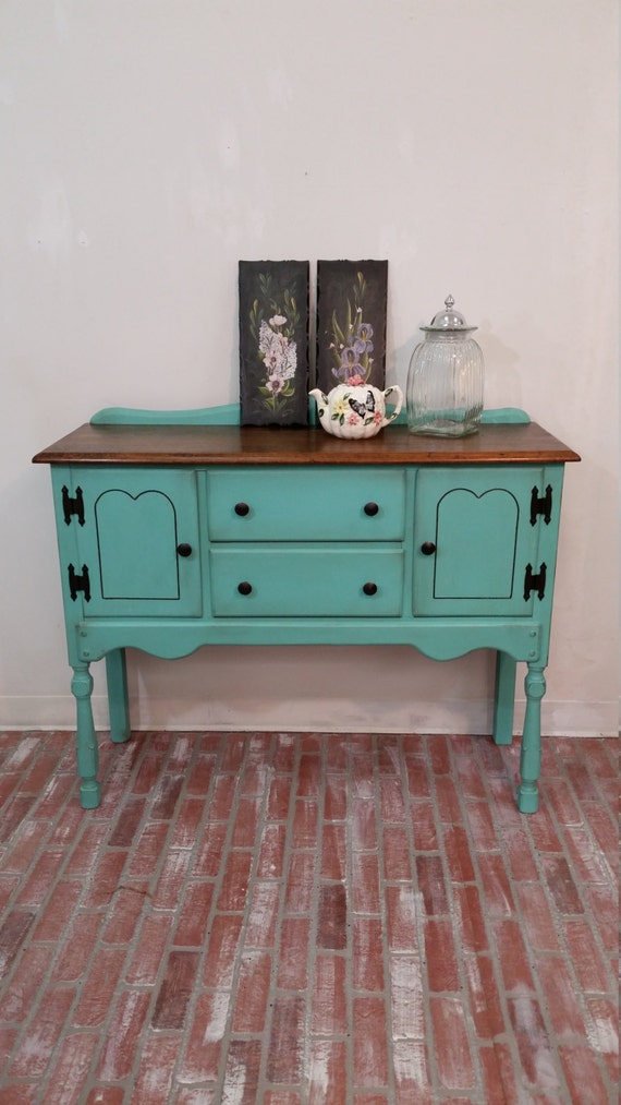 buffet table painted furniture farmhouse table rustic