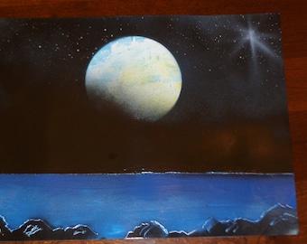 Sara Painted Moon