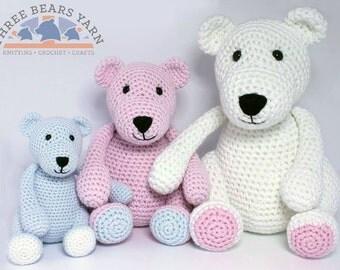 The Three Bears - Yarn & Pattern Pack