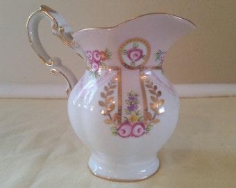 Royal danube pitcher/small pitcher/royal danube/pink and white pitcher/small decorative pitcher