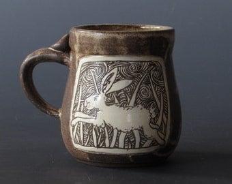 Running Bunny Mug