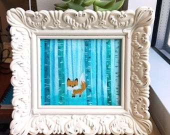 Foxy- Original Framed Painting