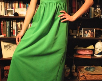 60's floor length dress