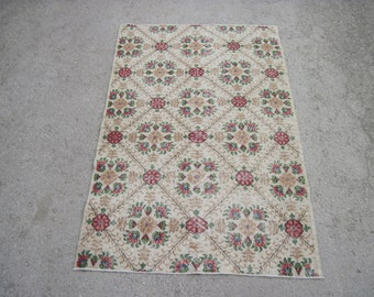 Cream Colored Rug Etsy