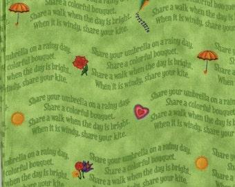 Veggie Tales _ Quilting Treasures  - 1 yd