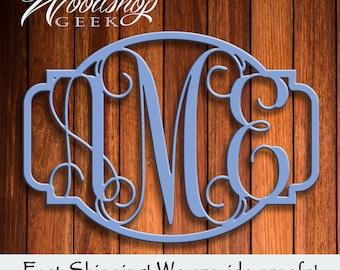 Wood Monogram, Custom Monogram, Custom Wood, Vine Monogram, Wood Monogram
