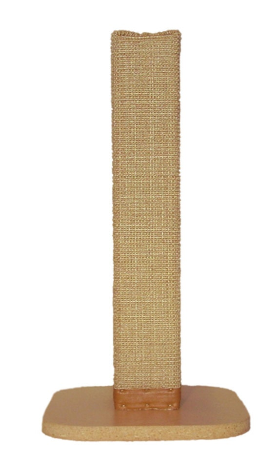 natural sisal cat scratching post with by felixscratchingposts. Black Bedroom Furniture Sets. Home Design Ideas