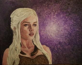 Daenery's Targaryen Canvas