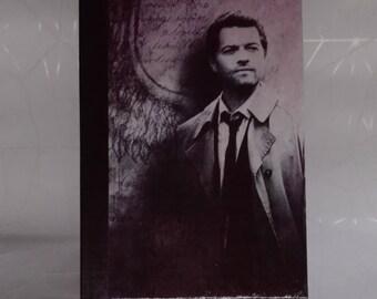 SALE Castiel - Supernatural Fandom Notebook