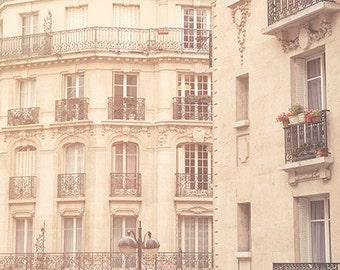 France, Paris, Paris photography, Paris house, Paris balcony, large wall art, Paris window photography, Paris print, fine art #103