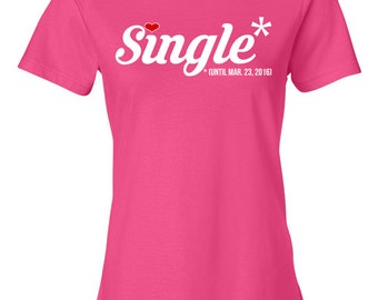 Wife shirt gift for wife marriage t shirt wedding gift tshirt for Custom single t shirts
