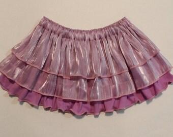 Iridescent Purple Frou Frou Skirt