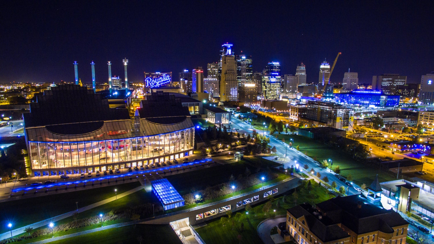Kansas City Skyline Royals