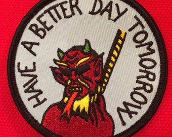 have a better day tomorrow PATCH