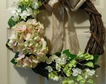 On Sale - Summer Grapevine Wreath