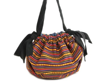 Cotton bag from Bhutan and Italy