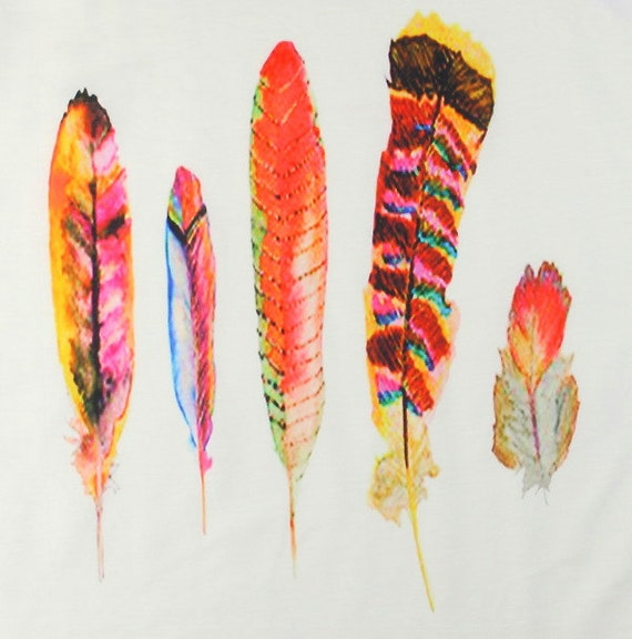Feather Tank,  Free Spirit Tank Top, Shirt, Feathers, Boho, Festival Wear, Hippie Clothes, Spiritual, Gypsy