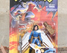 Gargoyles Elisa Maza Action Figure w/ Rocket Wing Jet Pack New 1995 Kenner / Tonka