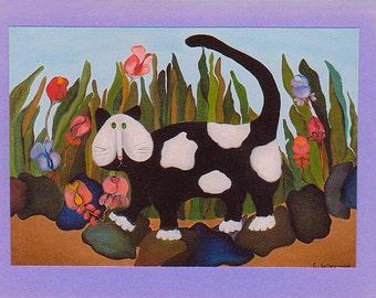 Jellicle Cat Greeting Card