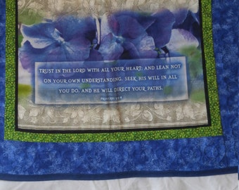 prayer quilt, handmade quilt, scripture quilt, wall hanging