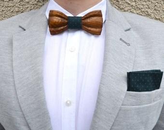 Gentlemanly wooden bow tie. Wedding bow tie bowtie, wood bow tie, bow tie, Handicraft unique gift, boyfriend gift. Neckties for man, Bow tie