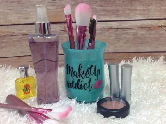 Makeup Brush Holder Makeup Organizer Vanity By MySweetCannella