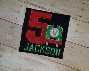 Percy the Train Birthday Shirt