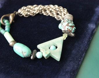 Turquoise Artist Created Bracelet