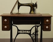 Vintage Singer Treadle Sewing Machine