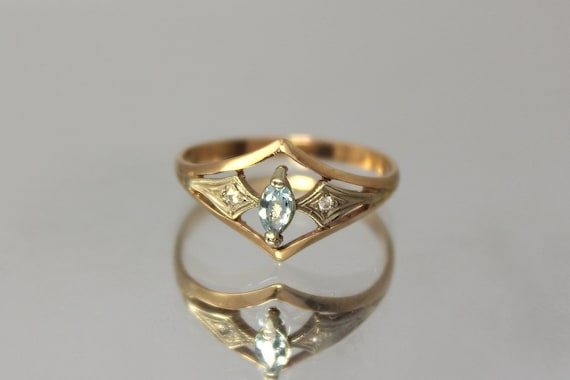 topaz promise ring promise ring by