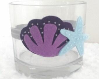 Dark Purple Mermaid Headband