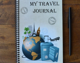 My Travel Journal - A children's travel diary.   A keepsake or gift for a young traveler.