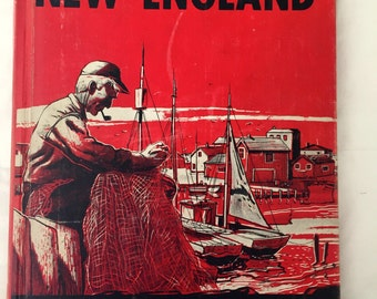 Life in America NEW ENGLAND Children's History Hardback Book