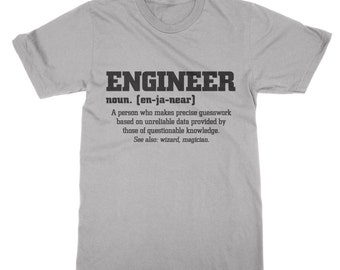 Definition of an engineer t-shirt