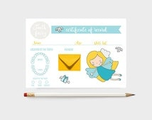 Tooth Fairy Record, Tooth Fairy Certificate, Tooth Fairy Receipt, Tooth Fairy Letter, Tooth Fairy Report, Lost Tooth, Tooth Fairy, record
