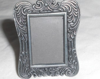 Miniature Picture Frame -  made  Perfect for a Dollhouse or Barbie