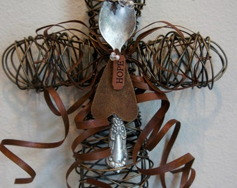 Wire Cross Etsy