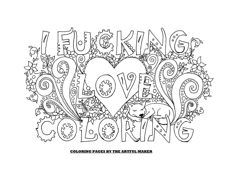 inspirerende kleurplaten voor volwassenen liefde krijg