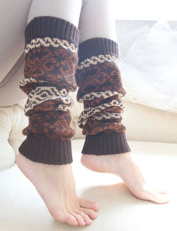 Knit Scandinavian Leg Warmers, Women's Leg Warmers, Knitted Leg Warmers, long socks, wonderful stretchy gaiters, wool