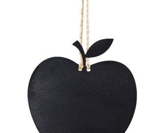 Kitchen Chalkboard - Kitchen wall art - Hanging Apple - Kitchen Chalkboard Apple, Useful kitchen gadget