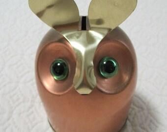 OWL Bank, Coppercraft Guild, Vintage