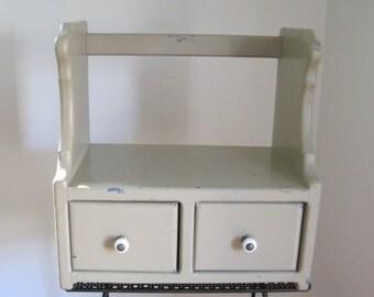 Country Shelf, Table Top, Handmade, Vintage