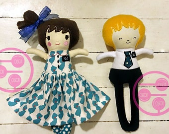 LDS Missionary Doll, Custom, Handmade