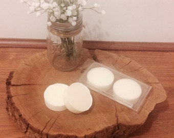 Handmade soy wax candle melts