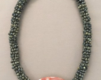 Shell necklace Handmade with Abalone Across Style